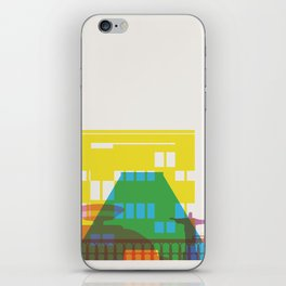Shapes of Rio. Accurate to scale iPhone Skin