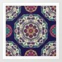 Colorful Mandala Pattern 007 by bluelela