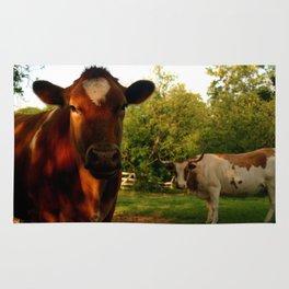 Dad's Cows Rug