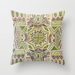 Earth Tapestry Throw Pillow