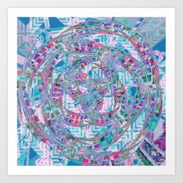 Big Bang, Harmony Art Print