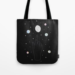 Whisper - Moon Phase Illustration Tote Bag