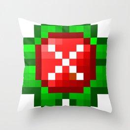 Occupied Throw Pillow