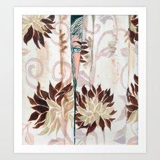 Spying eye #1 Art Print
