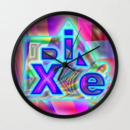 Dix.e #2 Wall Clock