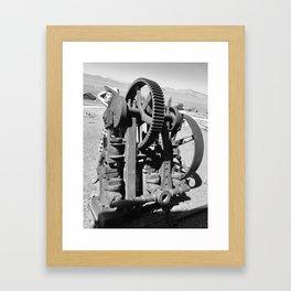 Gears of history Framed Art Print