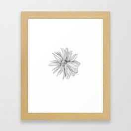 Butterfly kissed joys Framed Art Print