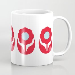 Joy collection - Red flowers Coffee Mug
