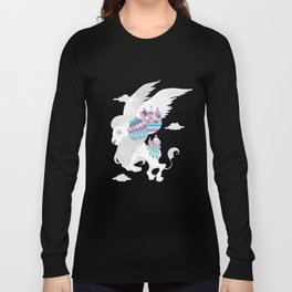 Flying Lion of Venice Long Sleeve T-shirt