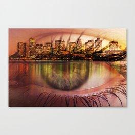 boston view Canvas Print