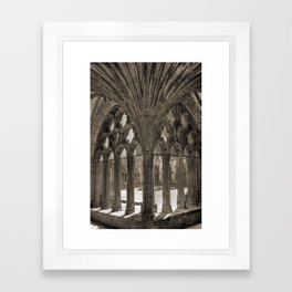 Canterbury Cathedral - England Framed Art Print