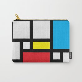 Mondrian Feeling Strong Carry-All Pouch