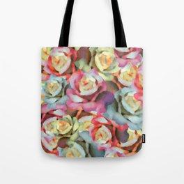 Technicolor Petal | Floral Tote Bag