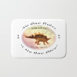 No One Rules If No One Obeys Bath Mat