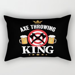 Funny Axe throwing Gift for Axe Thrower Rectangular Pillow