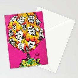 Mil Mascaras  Stationery Cards