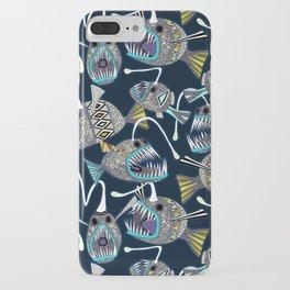 deep sea anglerfish iPhone Case