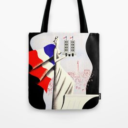 Paris Expo 1937 Art and Light Tote Bag