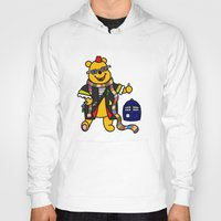pooh Hoodies featuring Doctor Pooh by Murphis the Scurpix