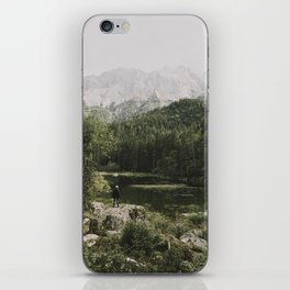In silence - landscape photography iPhone Skin