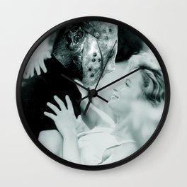 Jason Vorhees in Dirty Dancing Wall Clock