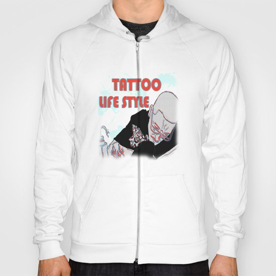 tattoo lifestyle Hoody