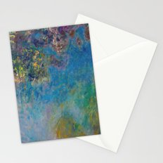 Wisteria by Claude Monet Stationery Cards