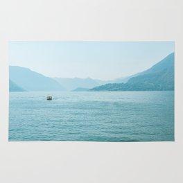 Blue scenery Rug
