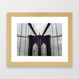 Brooklyn Bridge (1) Framed Art Print