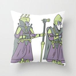 ATLANTEAN DUDES Throw Pillow