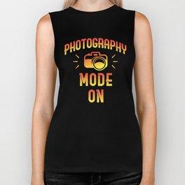 Photography Mode On Biker Tank