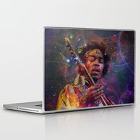 woodstock Laptop & iPad Skins featuring Woodstock Kiss the Sky by ZiggyChristenson