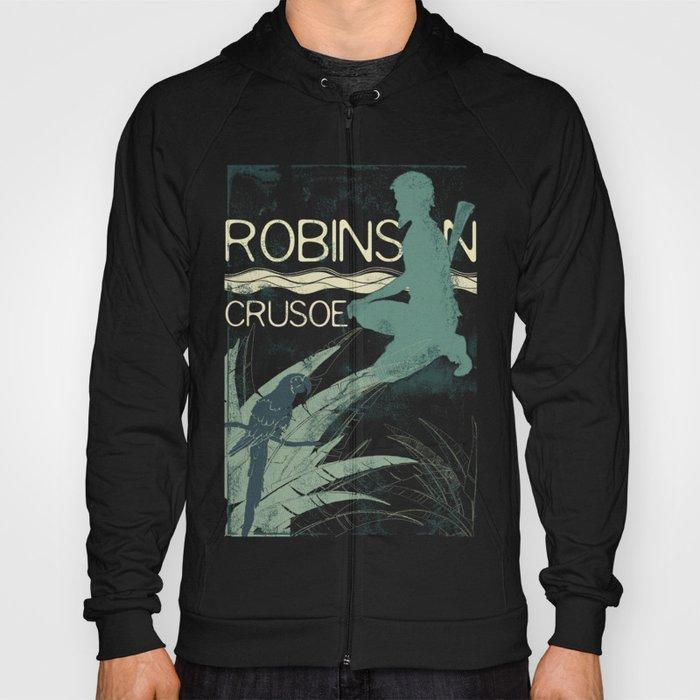 Books Collection: Robinson Crusoe Hoody