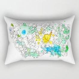 Prominent Proboscices Rectangular Pillow