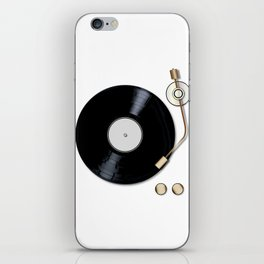 Record Deck iPhone Skin