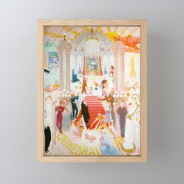 The Cathedrals of Art by Florine Stettheimer, 1942 Framed Mini Art Print