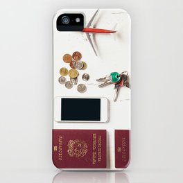 Ready to leave! Travel the world iPhone Case
