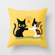Touch! Throw Pillow