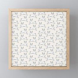 Lots-o-bunnies Framed Mini Art Print