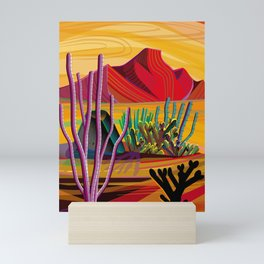 Love Mountain Mini Art Print
