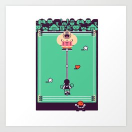 Overworld: Ring Art Print