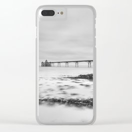 1046259 Clevedon Pier Clear iPhone Case