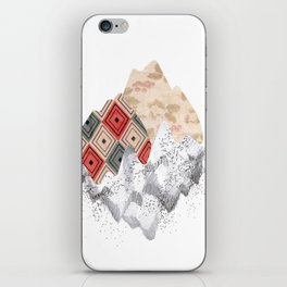 montañas collage iPhone Skin