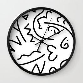Creature Love Wall Clock