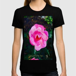 Pink Roses Don't Get Any Love - Pink Rose T-shirt