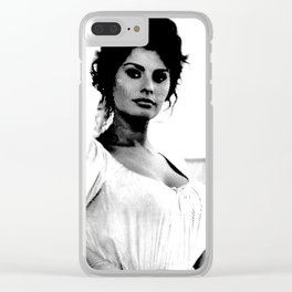 Iconic Loren Clear iPhone Case