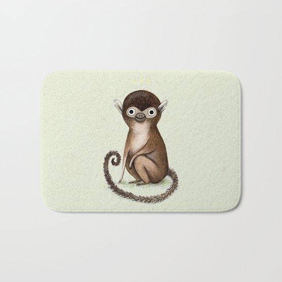 Squirrel Monkey Bath Mat