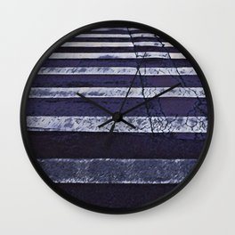 Crosswalk- path to success concept Wall Clock