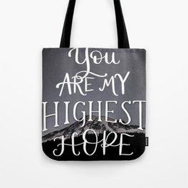 Highest Hope Tote Bag