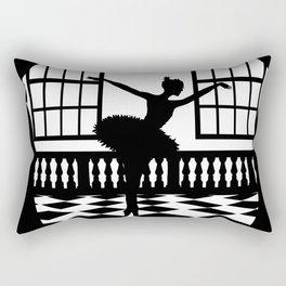 Swan Lake: Odile the Black Swan Rectangular Pillow